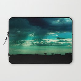 Morning Storm-Iowa Laptop Sleeve