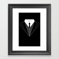 Suit Up Framed Art Print