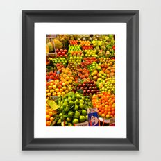 Market Place Framed Art Print