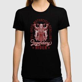 Legendary Skeleton Motorcycle T-shirt