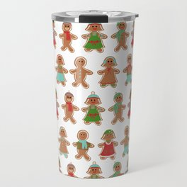 Gingerbread Bonanza Travel Mug