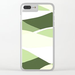Celery Vibrations Clear iPhone Case