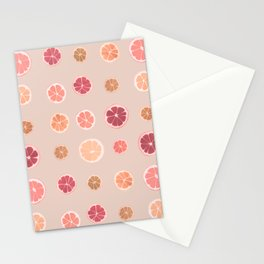 Lemons limes and oranges Stationery Cards
