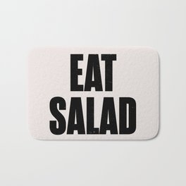 EAT SALAD Bath Mat