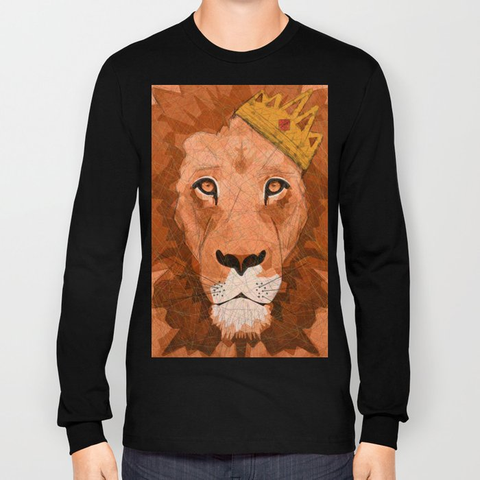 King of Lions Long Sleeve T-shirt