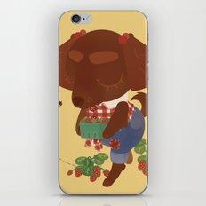 Strawberry Picker iPhone & iPod Skin