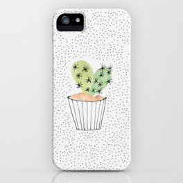 Cactus II iPhone Case