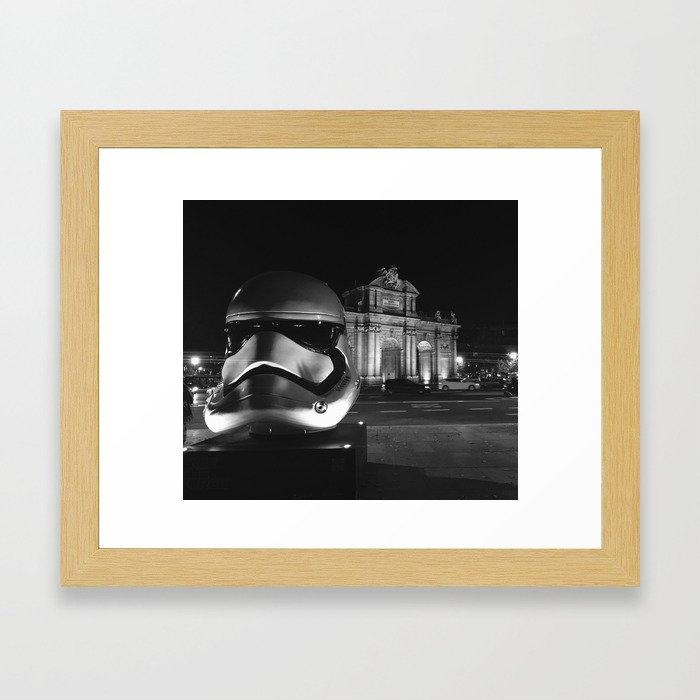 Imperial Madrid Framed Art Print