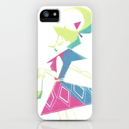 Colorful Girl iPhone Case