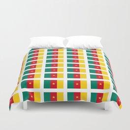 flag of cameroun -cameroun,cameroon,Cameroonian,camerounais,camerun, yaoundé,douala. Duvet Cover