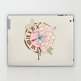 Il y a Beauté dans le Temps (There is Beauty in Time) Laptop & iPad Skin