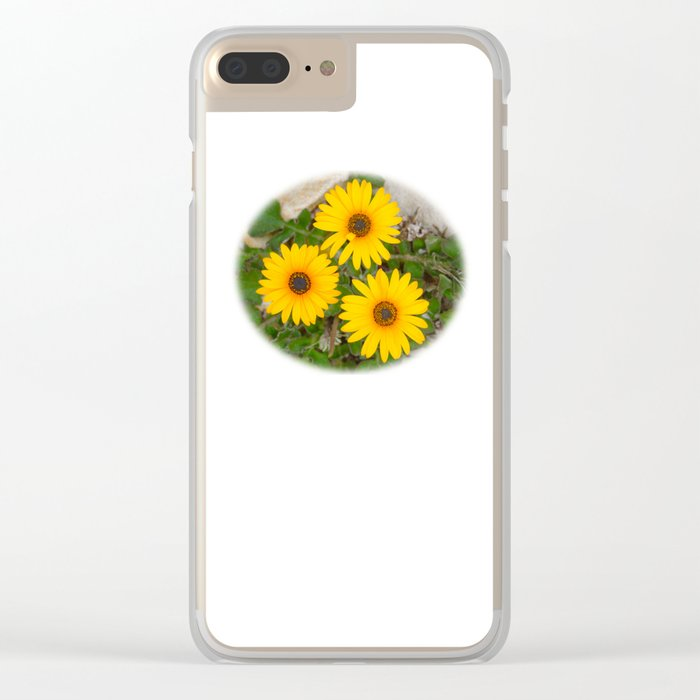 Three for You Clear iPhone Case