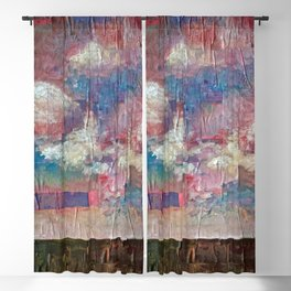 Imaginary Landscapes: Lighter Than Air Blackout Curtain