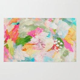 fantasia: abstract painting Rug