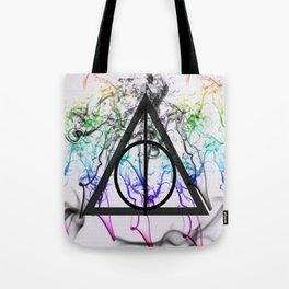 Deathly Hallows Symbol Tote Bag