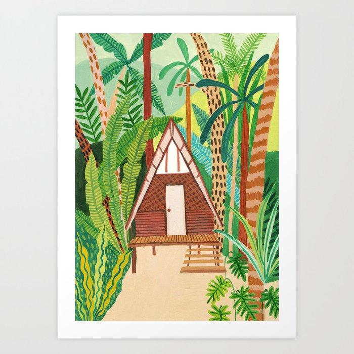 Jungle Home Art Print