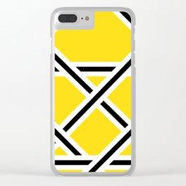 Criss-Cross Clear iPhone Case