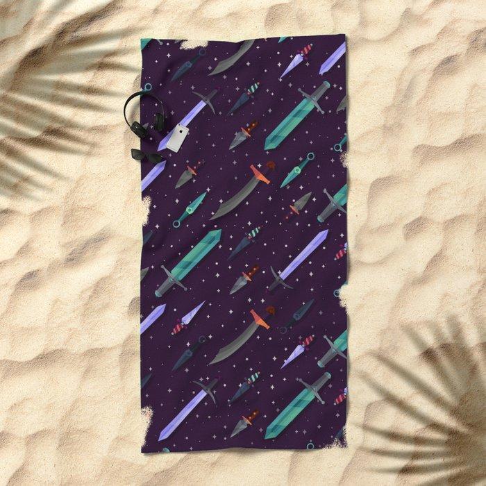 Daggs&Swords Beach Towel