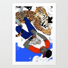 Bola & Jaguar Art Print