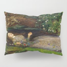 Ophelia, John Everett Millais Pillow Sham