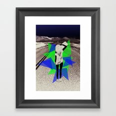 Skater Girl Framed Art Print