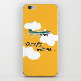 Come fly with me... iPhone Skin
