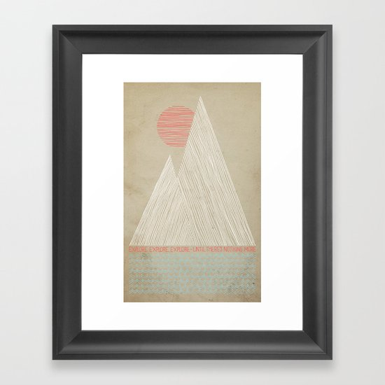 Nothing More Framed Art Print