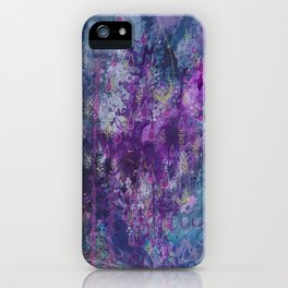 nocturnal bloom iPhone Case