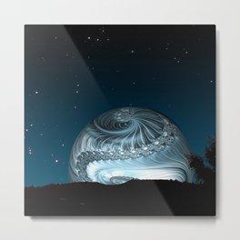 Super Moon Rising Metal Print