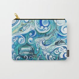 Shark wave Carry-All Pouch