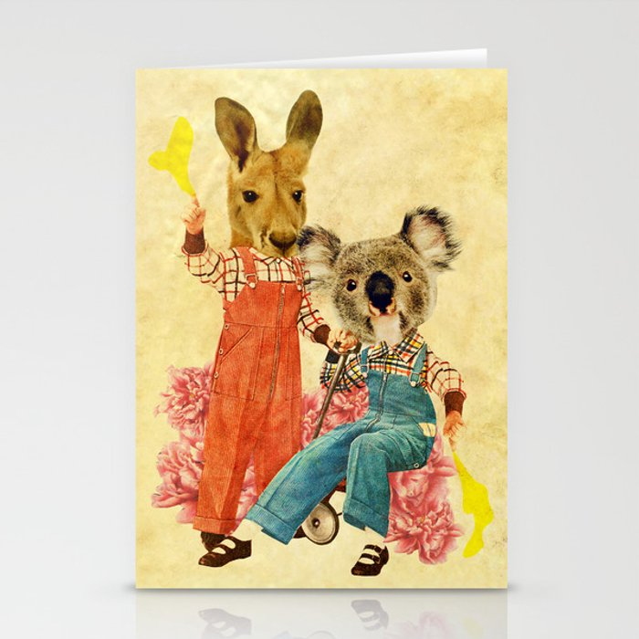 Australia Icon: The Nation Stationery Cards