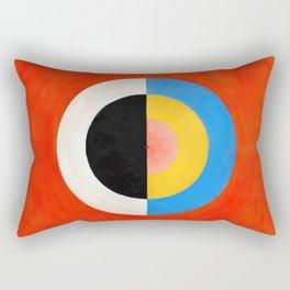 Hilma af Klint - Swan - Digital Remastered Edition Rectangular Pillow