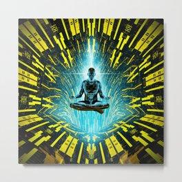 Zen Singularity Metal Print