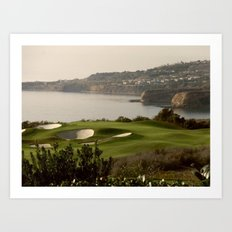 FORE!!! Art Print