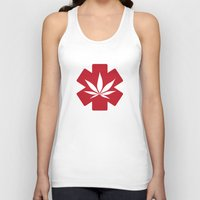 medical Tank Tops featuring Medical Marijuana by WeedPornDaily