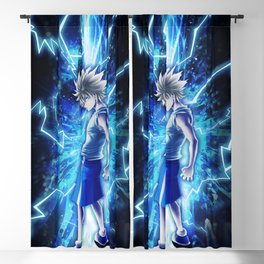 Godspeed Killua Blackout Curtain