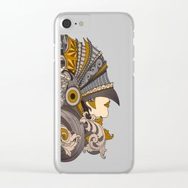 Always a knight Clear iPhone Case