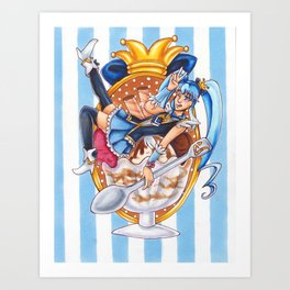 Princess Sundae Art Print