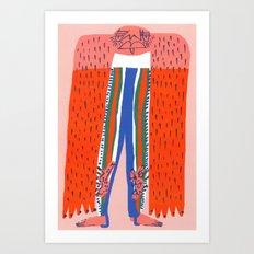 Stirrup Leggings Art Print