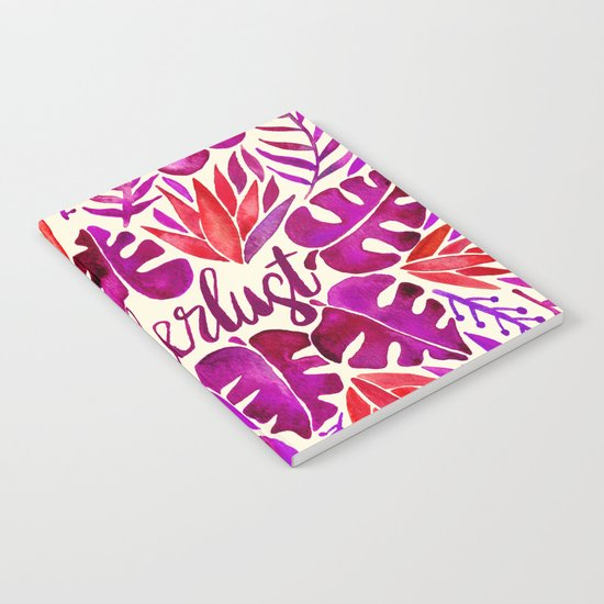 Tropical Wanderlust – Magenta Palette Notebook