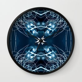 Dreamcatcher #Abstract #Art by Menega Sabidussi #society6 Wall Clock