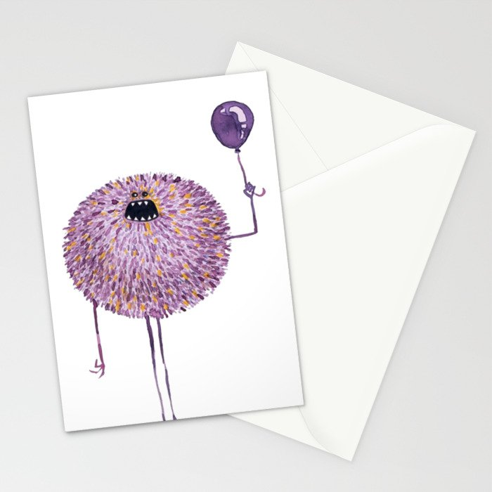 Poofy Francis Stationery Cards