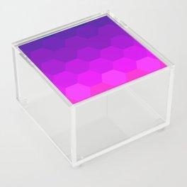 Polygon Texture Acrylic Box