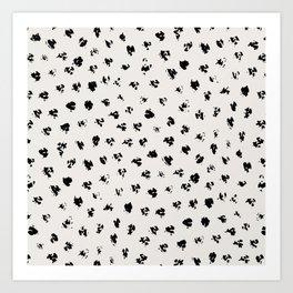 Polka Splotch Art Print