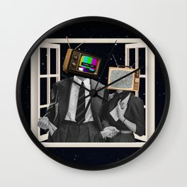 Signal Lost Wall Clock
