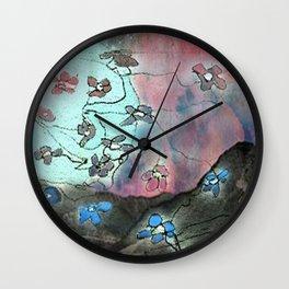 A Spring Night Wall Clock