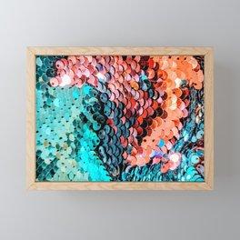 Sequin Framed Mini Art Print