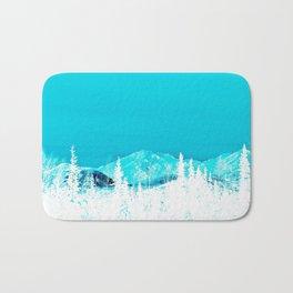 Turquoise Alaska - Pop Art I Bath Mat