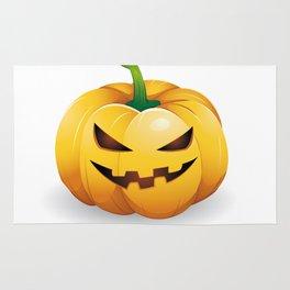 pumpkin head Rug