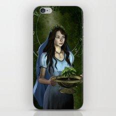 Virgo zodiac fantasy iPhone & iPod Skin